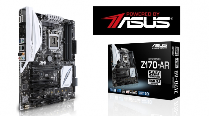 Asus Z170-AR motherboard review- Getting ready for VR